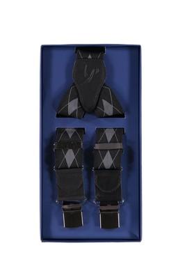 Erkek Giyim - Kalın Desenli Pantolon Askısı