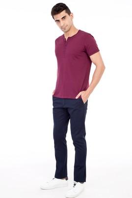 Erkek Giyim - Lacivert 50 50 Spor Pantolon