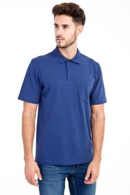 Erkek Giyim - Mavi S S Polo Yaka Klasik Tişört