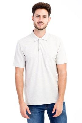 Erkek Giyim - Orta füme S S Polo Yaka Klasik Tişört