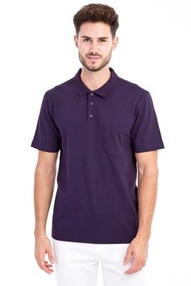 Erkek Giyim - Bordo M M Polo Yaka Klasik Tişört