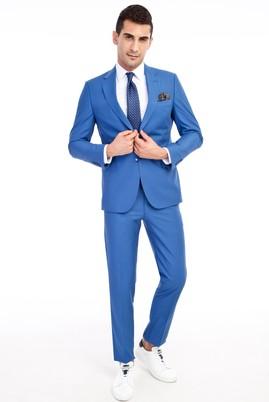 Erkek Giyim - Mavi 52 52 Slim Fit Takım Elbise