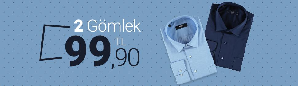 2 Gömlek 99.90 TL